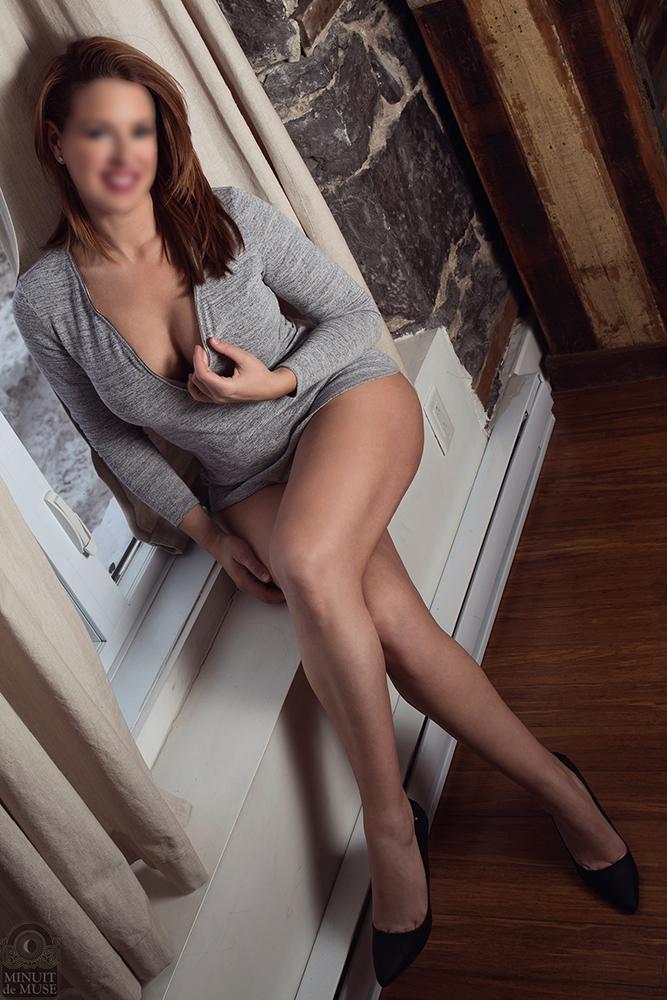 Elegant escort Montreal Alicia DelaFleur