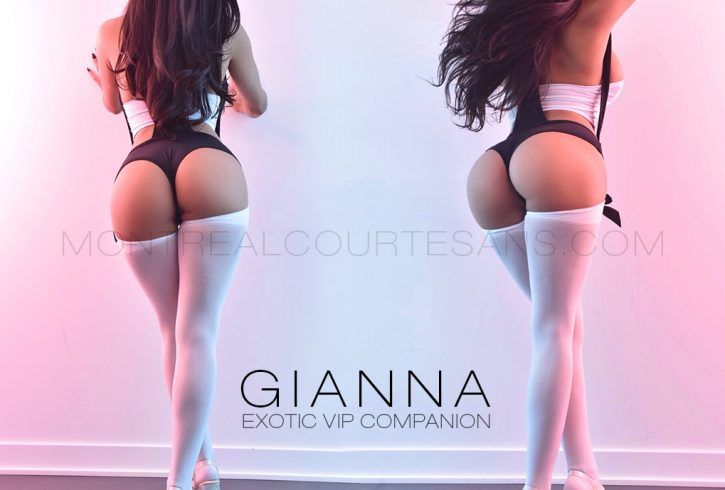 Exotic elite companion Gianna